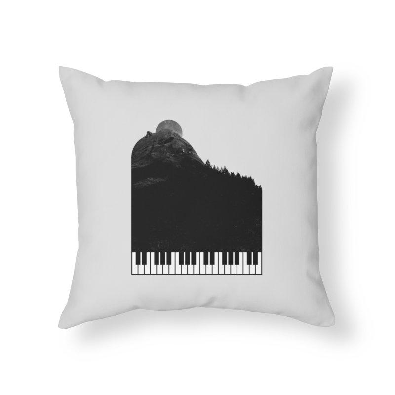 Sound Of Nature Home Throw Pillow by Arrivesatten Artist Shop