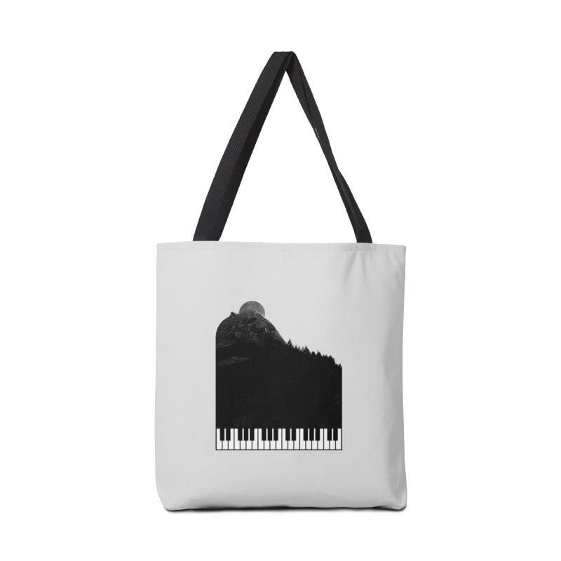 Sound Of Nature Accessories Bag by Arrivesatten Artist Shop
