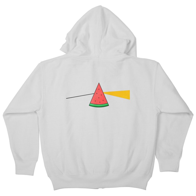Summer Is Coming Kids Zip-Up Hoody by Arrivesatten Artist Shop
