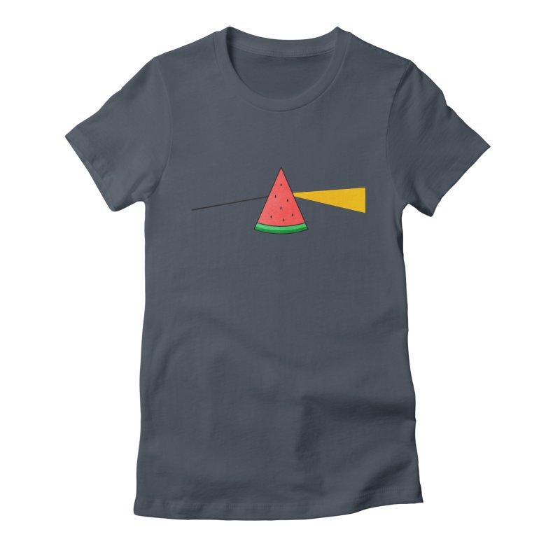 Summer Is Coming Women's Fitted T-Shirt by Arrivesatten Artist Shop