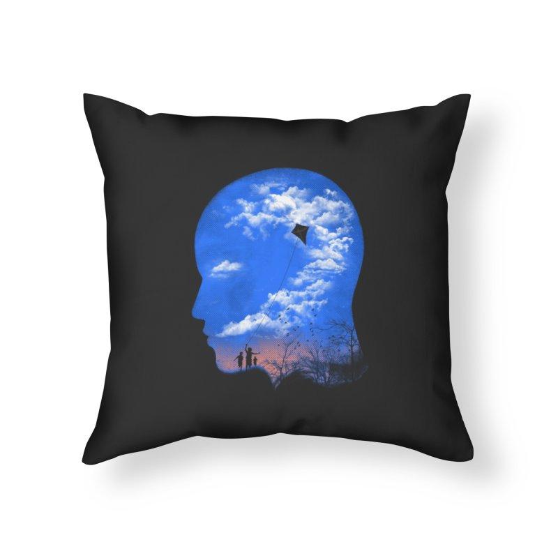 Flying Kite Home Throw Pillow by Arrivesatten Artist Shop