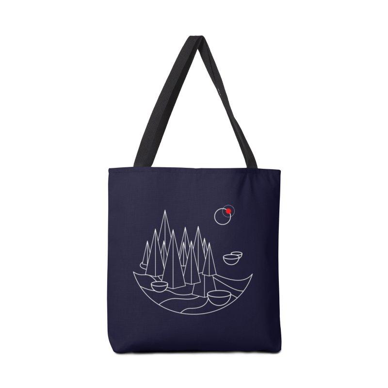 Visit Utopia Accessories Bag by Arrivesatten Artist Shop