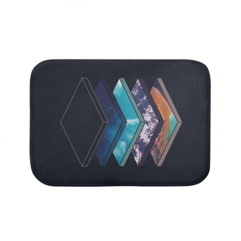 Layers Home Bath Mat by Arrivesatten Artist Shop