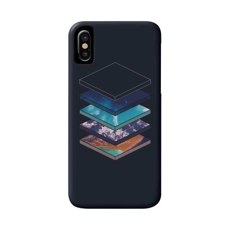 Layers in iPhone X Phone Case Slim by Arrivesatten Artist Shop