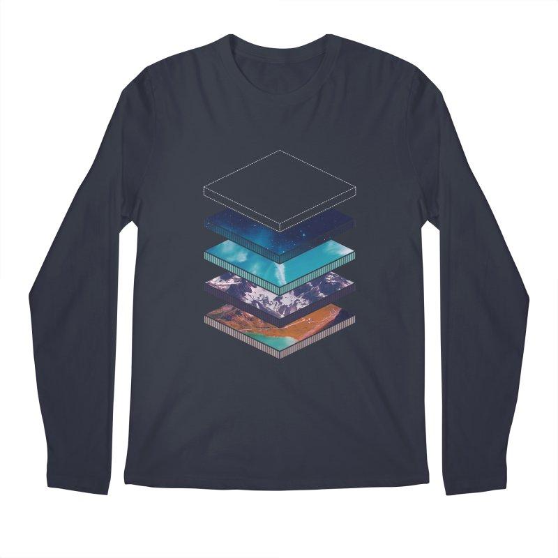 Layers Men's Longsleeve T-Shirt by Arrivesatten Artist Shop