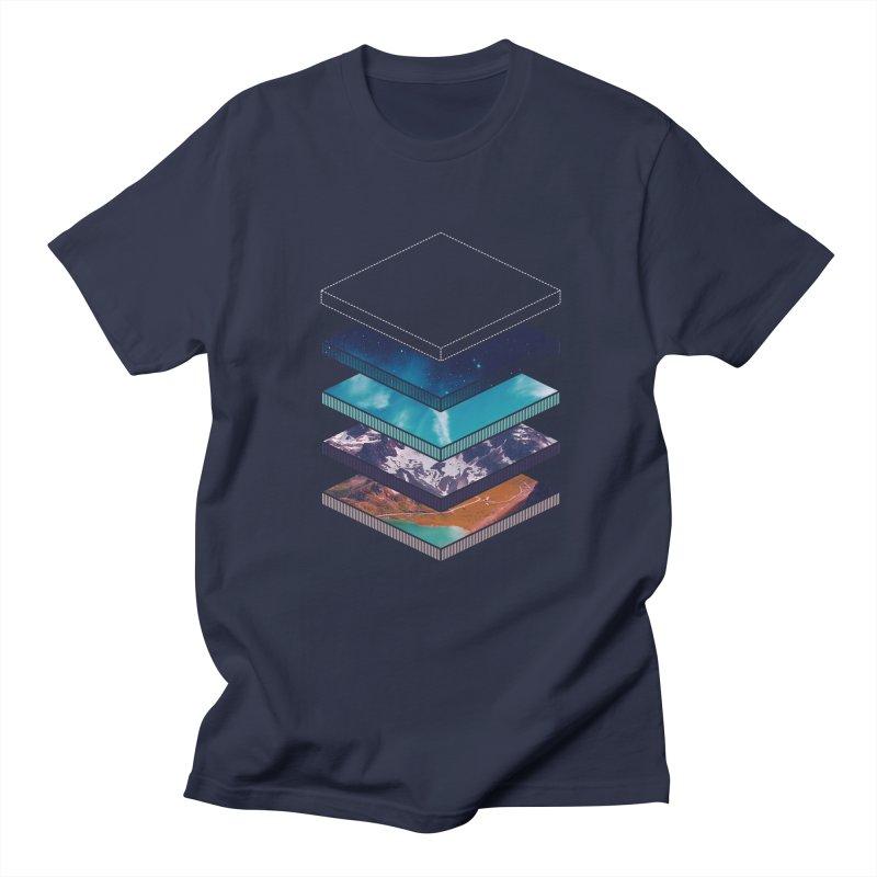 Layers Men's T-Shirt by Arrivesatten Artist Shop