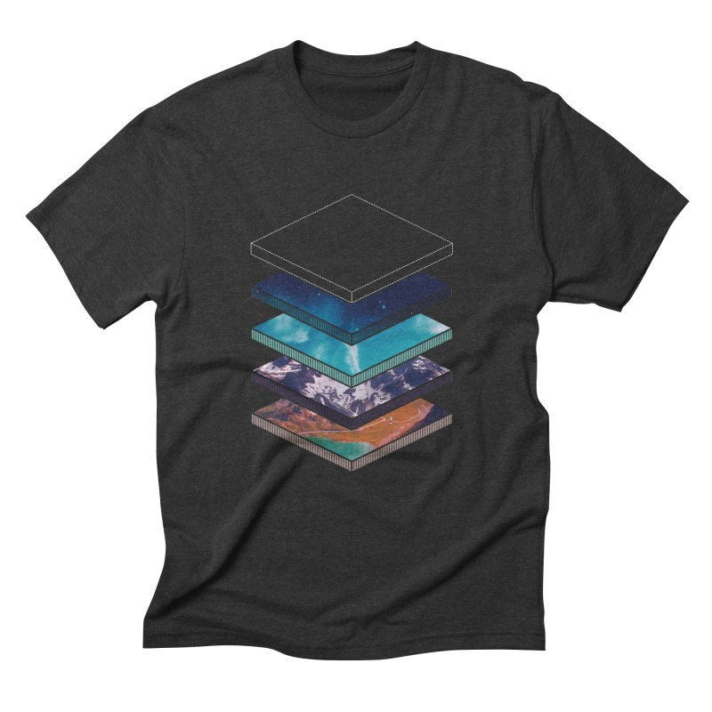 Layers Men's Triblend T-Shirt by Arrivesatten Artist Shop