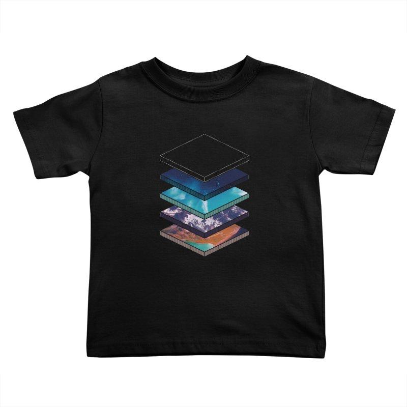 Layers Kids Toddler T-Shirt by Arrivesatten Artist Shop