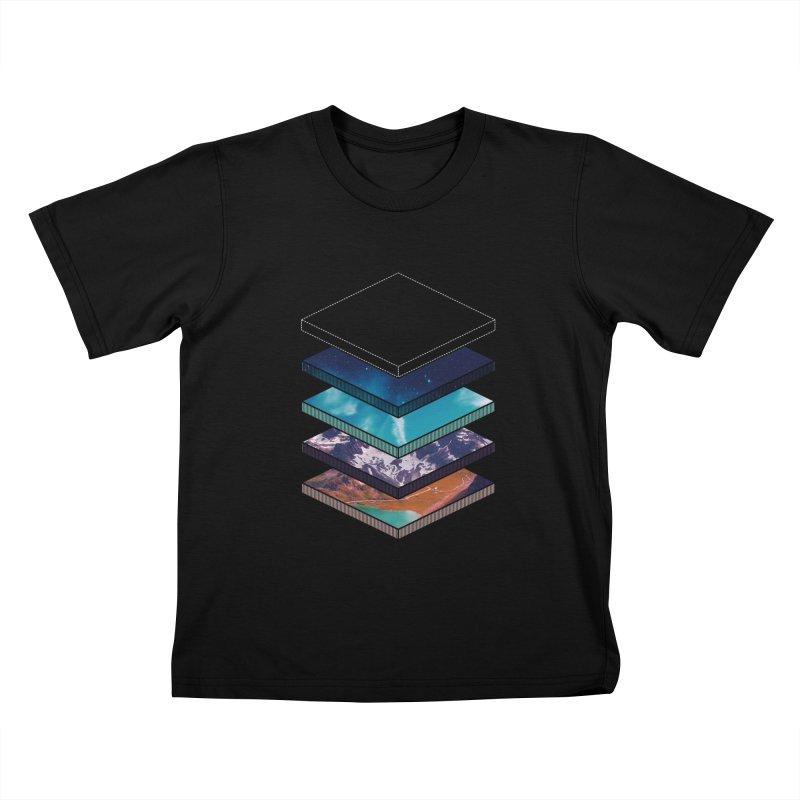 Layers Kids T-Shirt by Arrivesatten Artist Shop