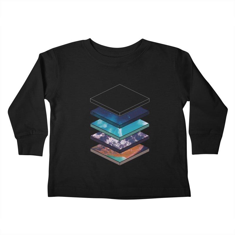 Layers Kids Toddler Longsleeve T-Shirt by Arrivesatten Artist Shop