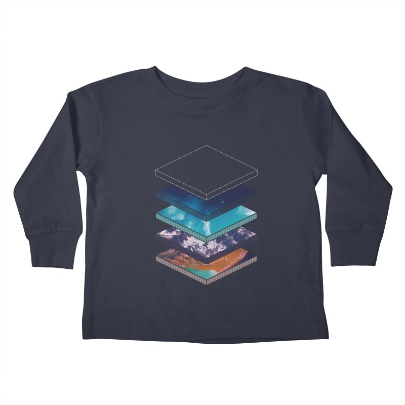 Layers Kids Toddler Longsleeve T-Shirt by Arrivesatten Artist Shop