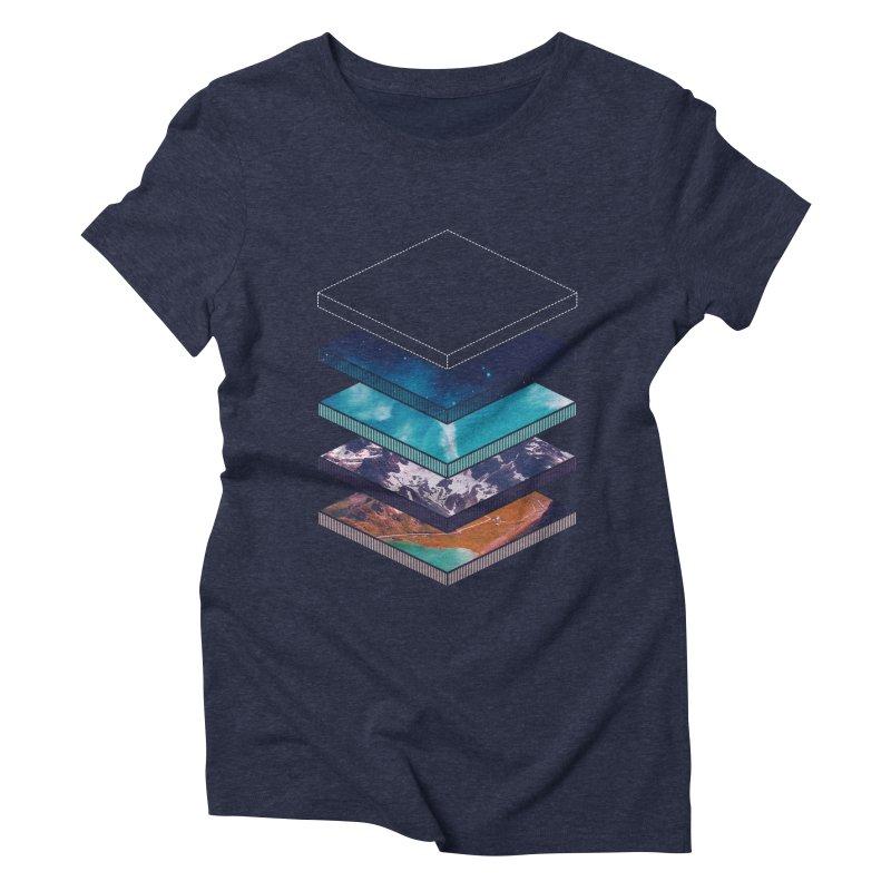 Layers Women's Triblend T-Shirt by Arrivesatten Artist Shop