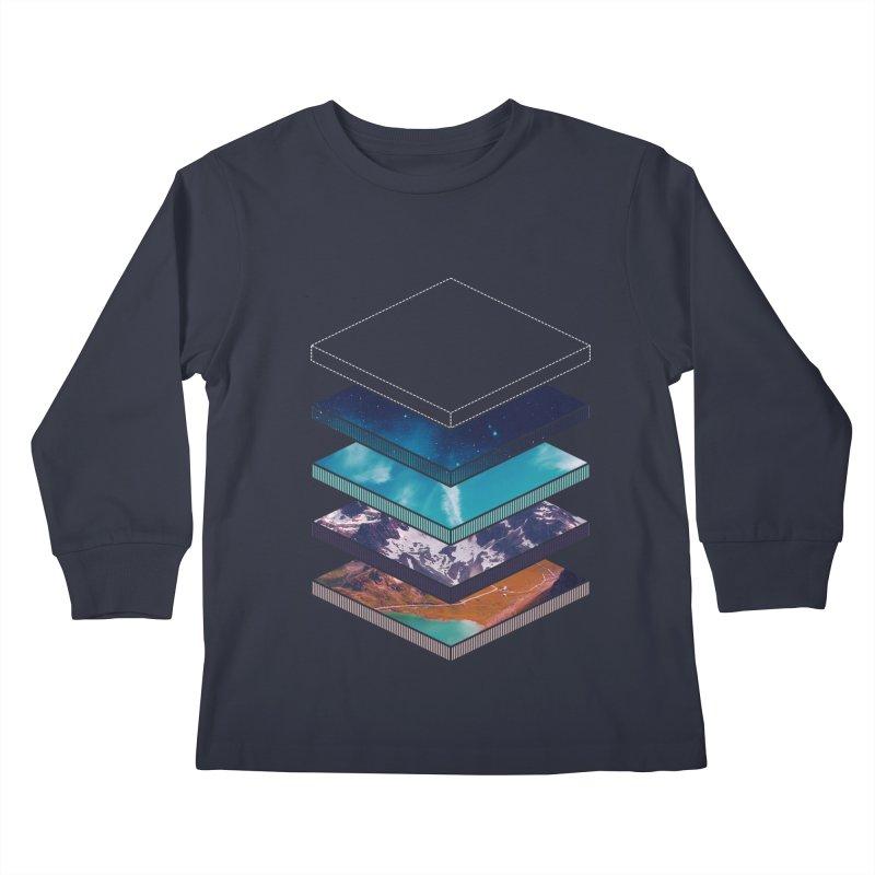 Layers Kids Longsleeve T-Shirt by Arrivesatten Artist Shop