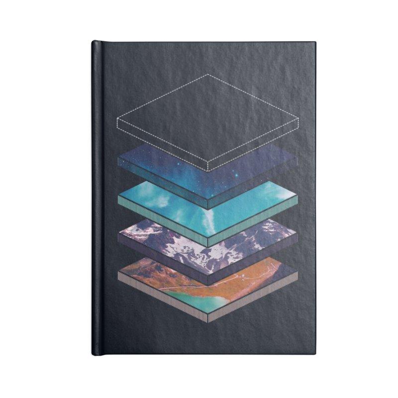 Layers Accessories Notebook by Arrivesatten Artist Shop