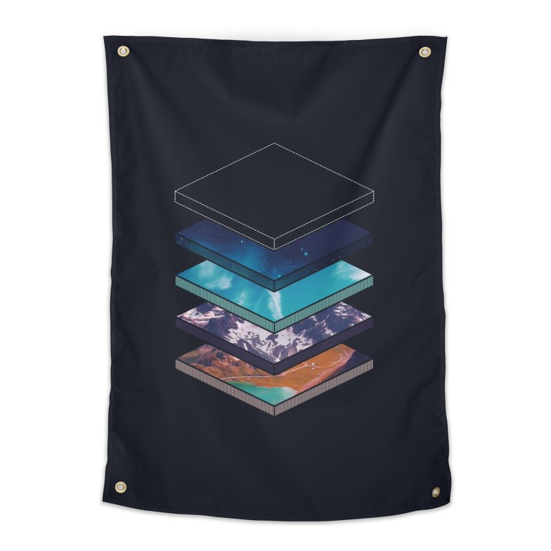 Layers Home Tapestry by Arrivesatten Artist Shop