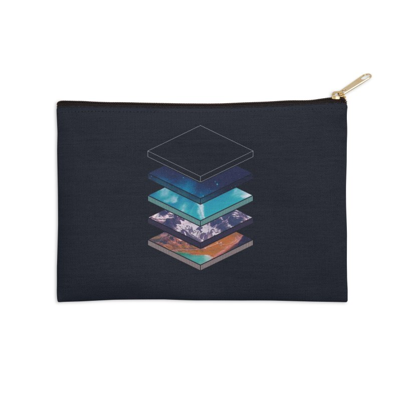 Layers Accessories Zip Pouch by Arrivesatten Artist Shop