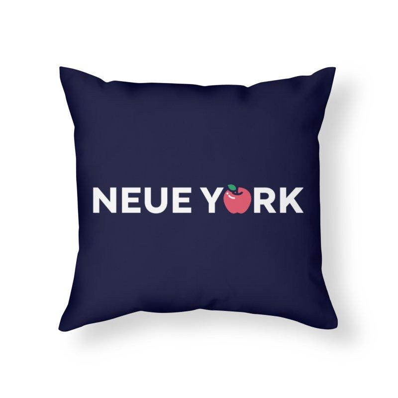 The Big Apple Home Throw Pillow by Arrivesatten Artist Shop
