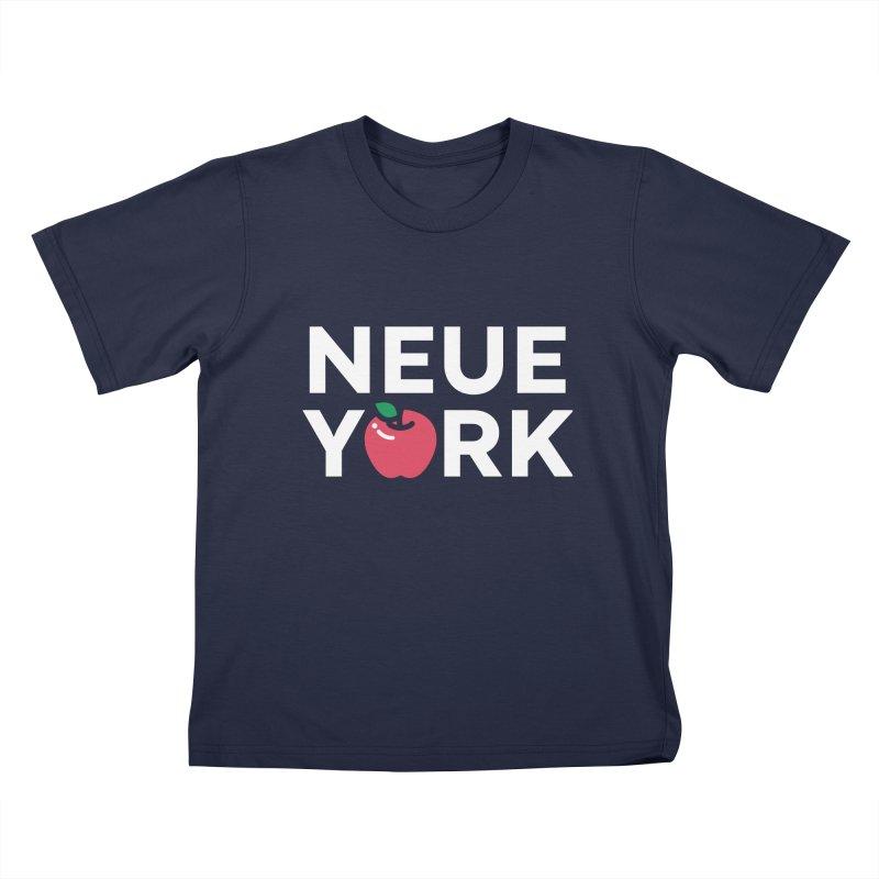 The Big Apple Kids T-Shirt by Arrivesatten Artist Shop