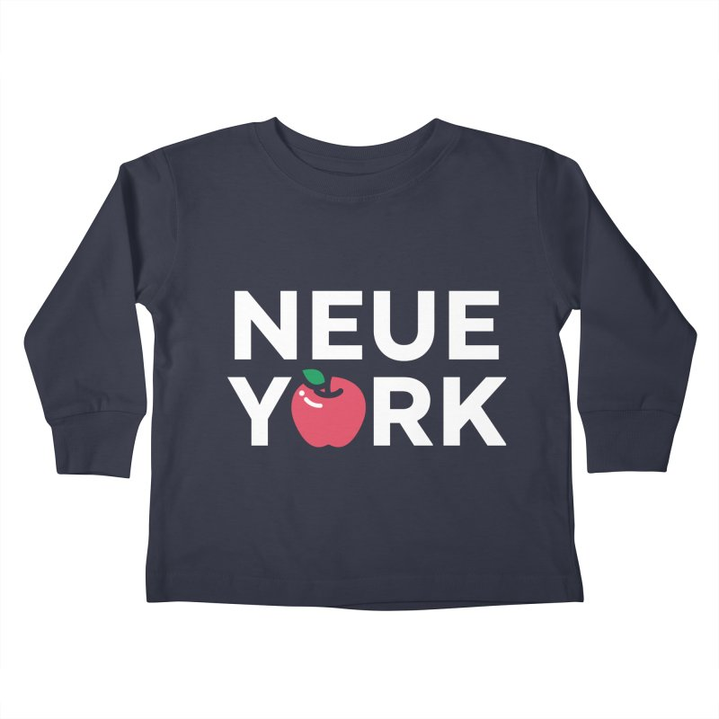 The Big Apple Kids Toddler Longsleeve T-Shirt by Arrivesatten Artist Shop