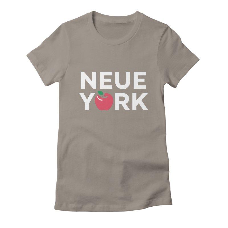 The Big Apple Women's Fitted T-Shirt by Arrivesatten Artist Shop