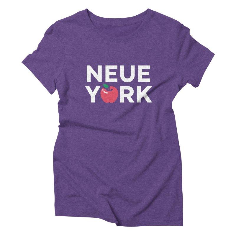 The Big Apple Women's Triblend T-Shirt by Arrivesatten Artist Shop