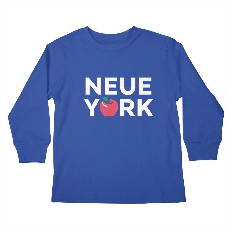 The Big Apple Kids Longsleeve T-Shirt by Arrivesatten Artist Shop