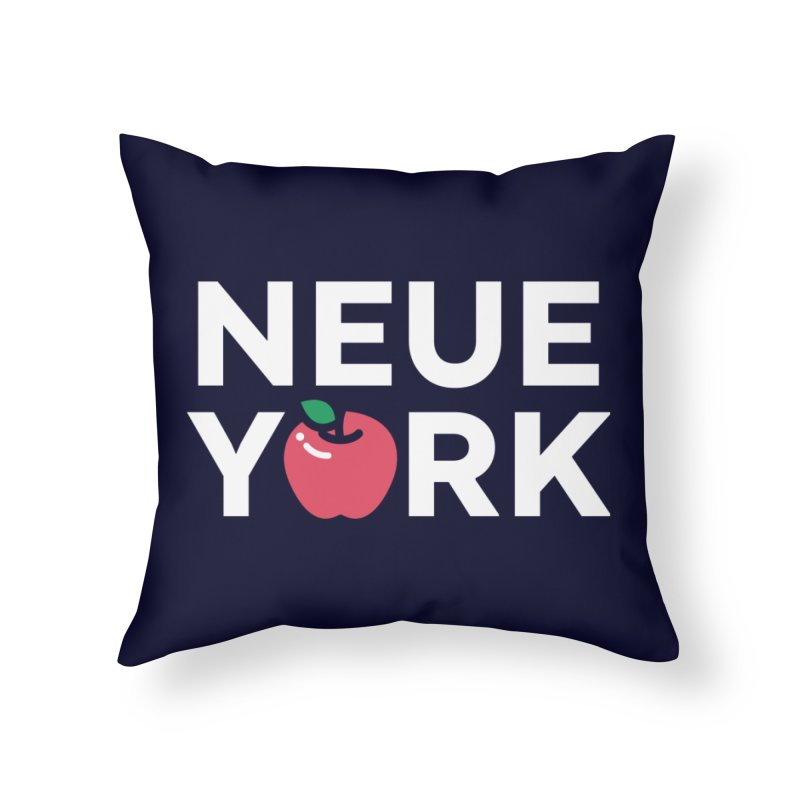The Big Apple Home Throw Pillow by Arrivesatten Artist Shop