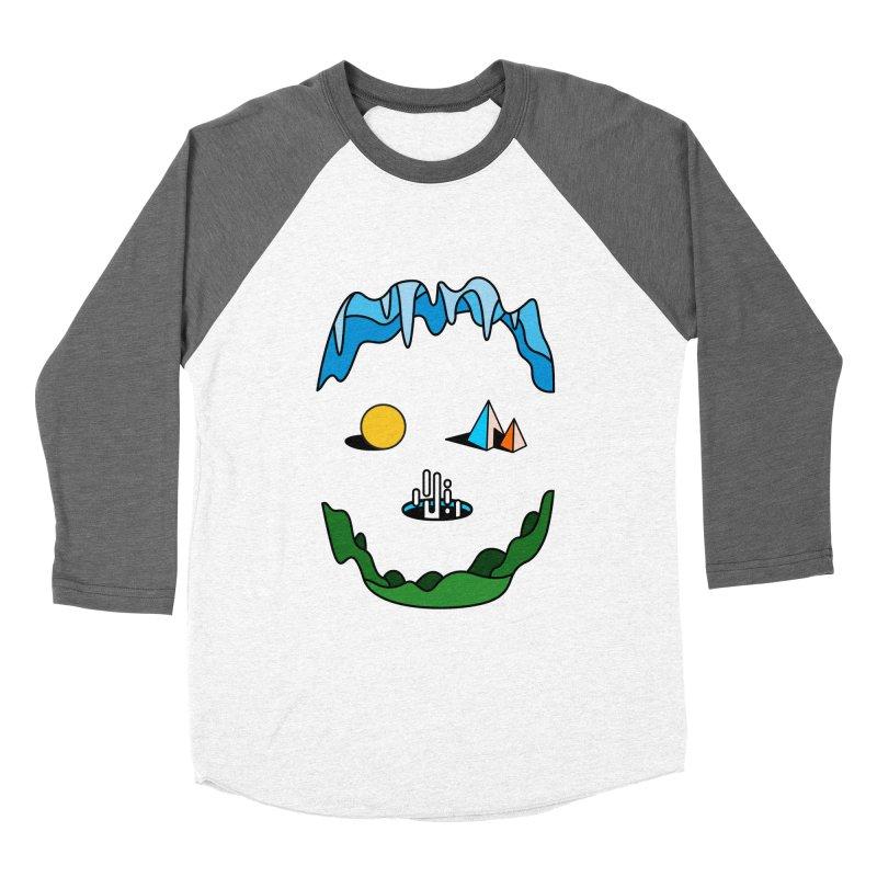 Skull Women's Baseball Triblend T-Shirt by Arrivesatten Artist Shop
