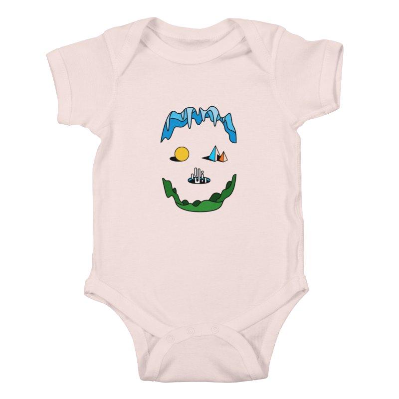 Skull Kids Baby Bodysuit by Arrivesatten Artist Shop
