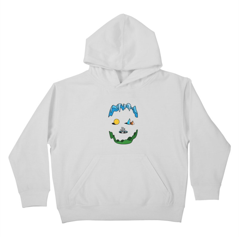 Skull Kids Pullover Hoody by Arrivesatten Artist Shop