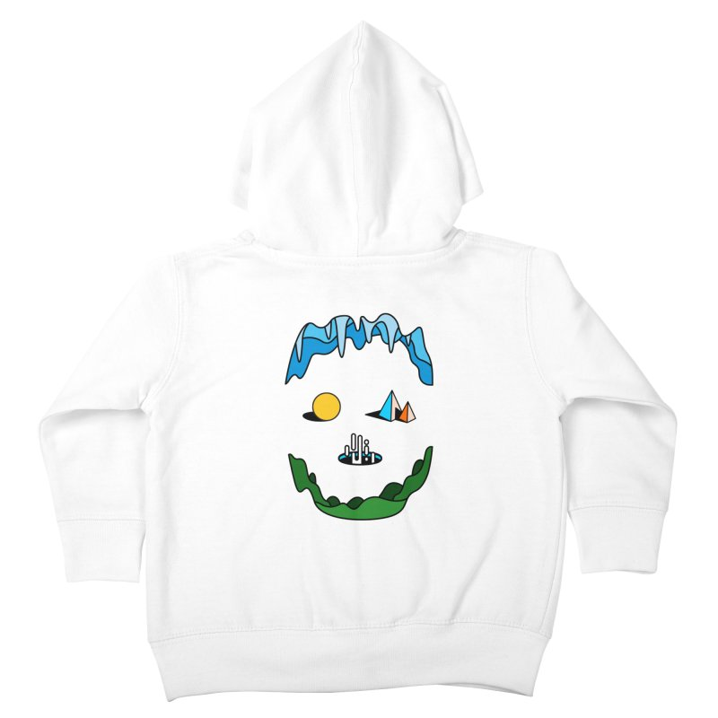Skull Kids Toddler Zip-Up Hoody by Arrivesatten Artist Shop