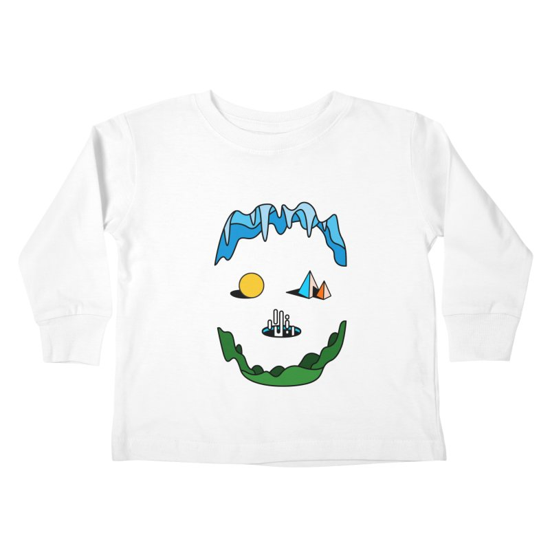 Skull Kids Toddler Longsleeve T-Shirt by Arrivesatten Artist Shop