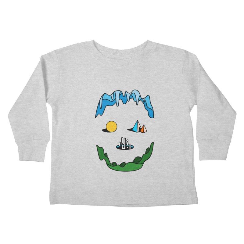 Skull Kids Toddler Longsleeve T-Shirt by Arrivesatten Artist Shop