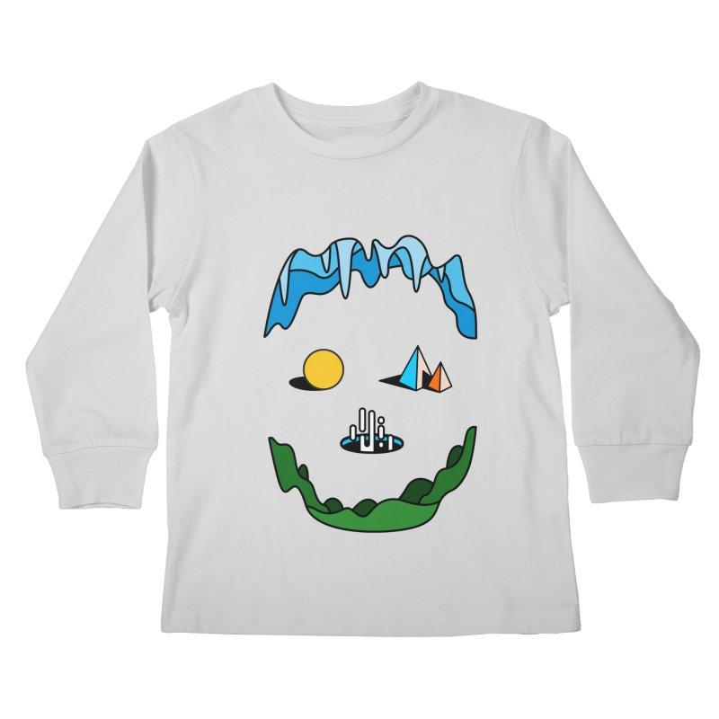 Skull Kids Longsleeve T-Shirt by Arrivesatten Artist Shop