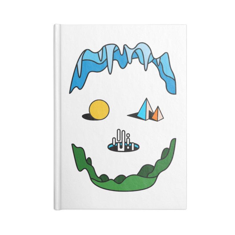 Skull Accessories Notebook by Arrivesatten Artist Shop