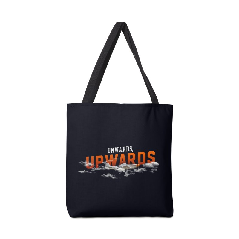 Onwards, Upwards Accessories Bag by Arrivesatten Artist Shop