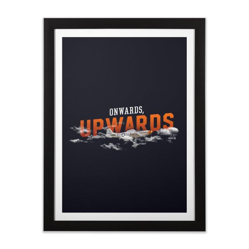Onwards, Upwards Home Framed Fine Art Print by Arrivesatten Artist Shop