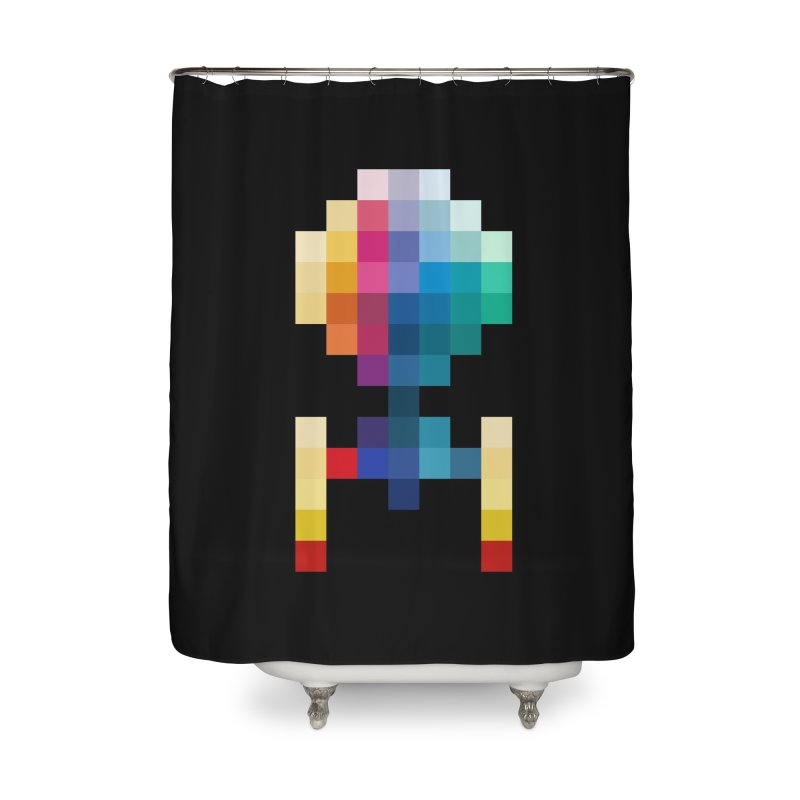 The Starship Home Shower Curtain by Arrivesatten Artist Shop