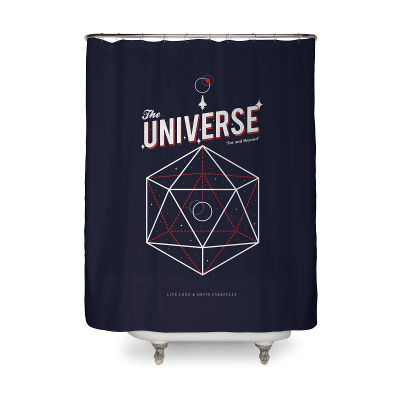 Voyage Home Shower Curtain by Arrivesatten Artist Shop
