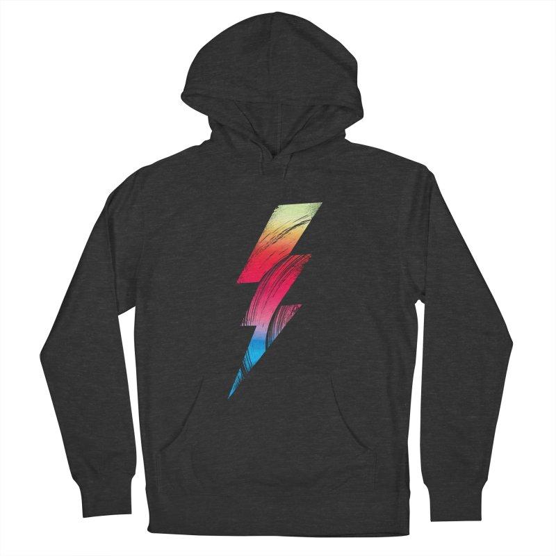 Neon Lightning Men's Pullover Hoody by Arrivesatten Artist Shop