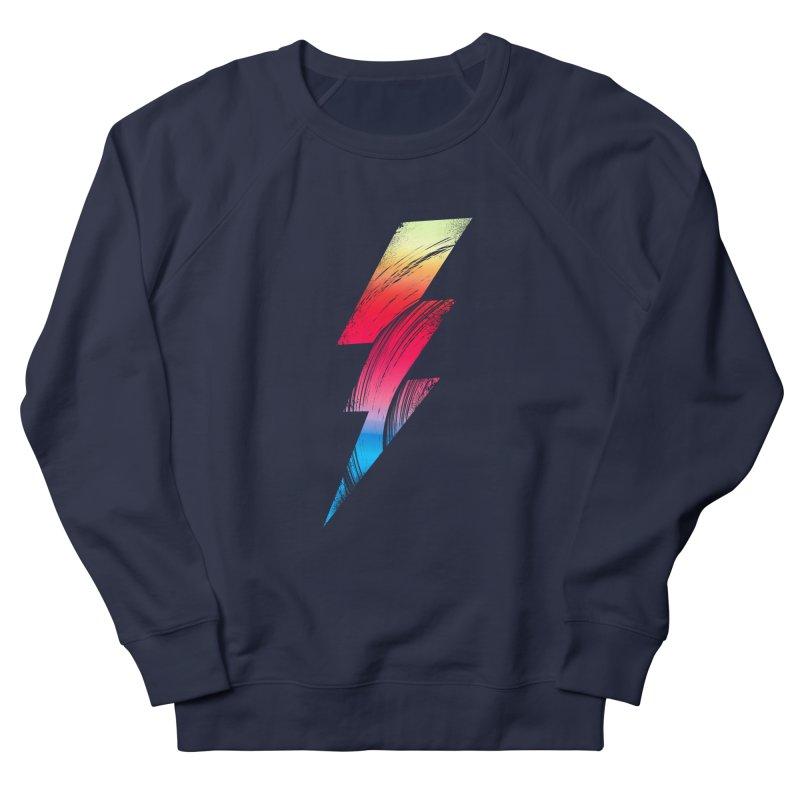 Neon Lightning Women's Sweatshirt by Arrivesatten Artist Shop