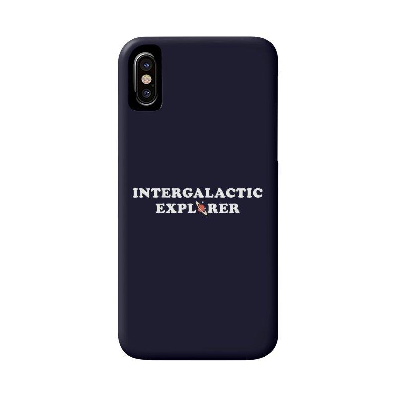 Intergalactic Explorer Accessories Phone Case by Arrivesatten Artist Shop