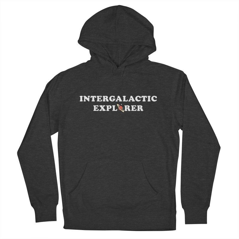 Intergalactic Explorer Men's Pullover Hoody by Arrivesatten Artist Shop