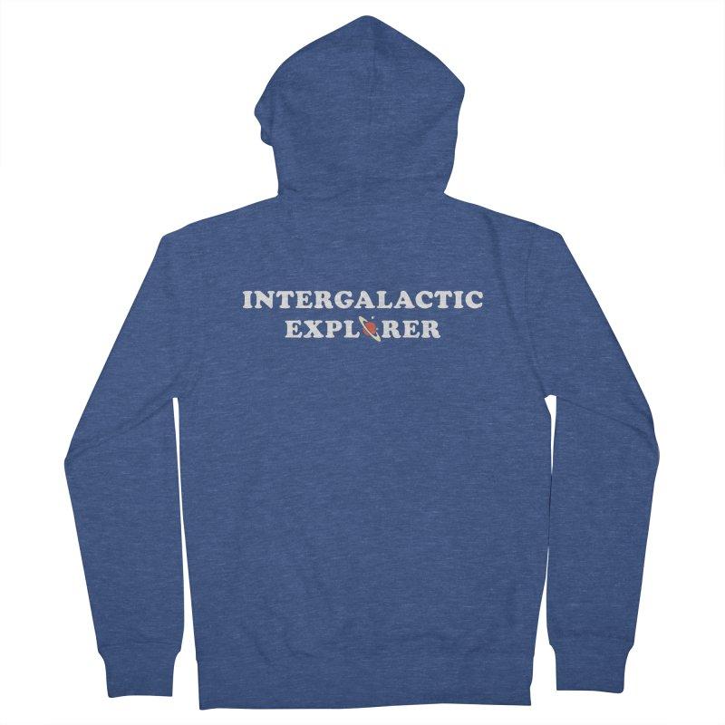 Intergalactic Explorer Men's Zip-Up Hoody by Arrivesatten Artist Shop