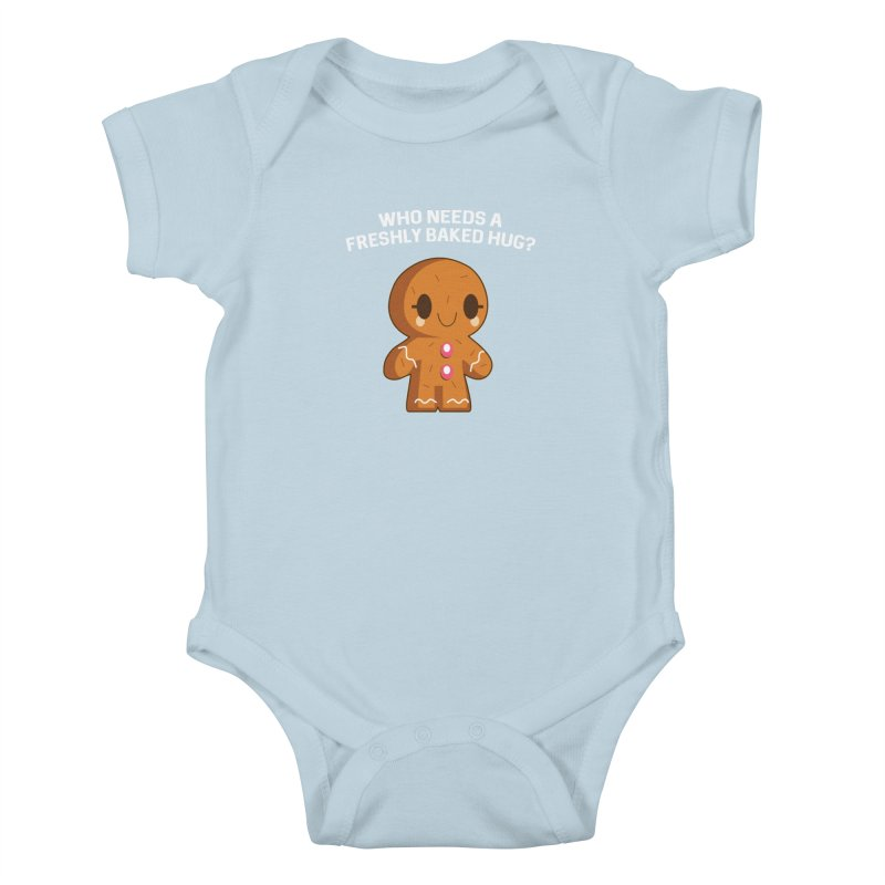 Freshly Baked Hugs Kids Baby Bodysuit by My Shirty Life