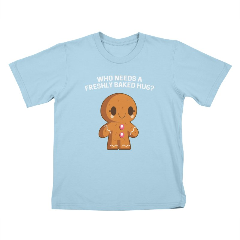 Freshly Baked Hugs Kids T-Shirt by My Shirty Life