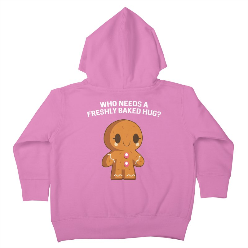 Freshly Baked Hugs Kids Toddler Zip-Up Hoody by My Shirty Life