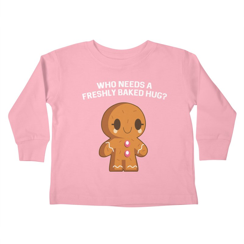 Freshly Baked Hugs Kids Toddler Longsleeve T-Shirt by My Shirty Life