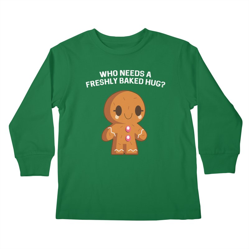 Freshly Baked Hugs Kids Longsleeve T-Shirt by My Shirty Life