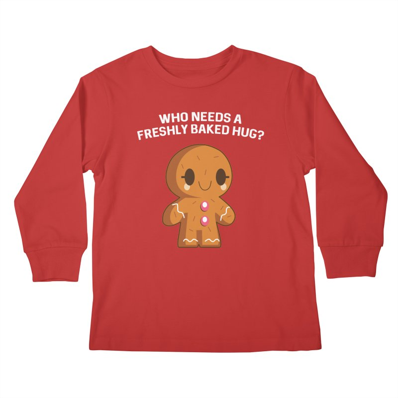Freshly Baked Hugs Kids Longsleeve T-Shirt by My Shirty Life